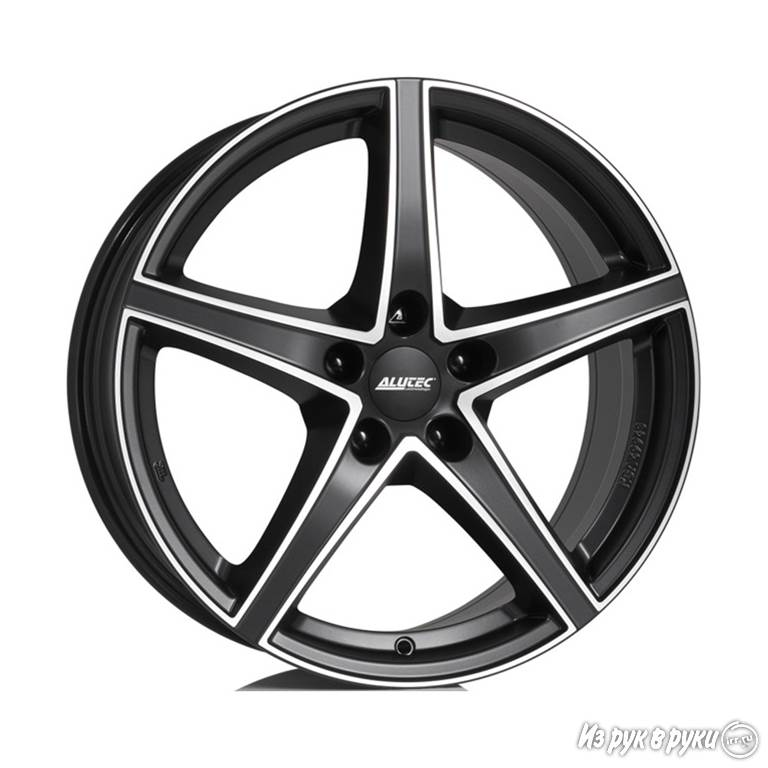 Диск литой Alutec Raptr 7.5x18/5*112 D66.5 ET52 Racing Black