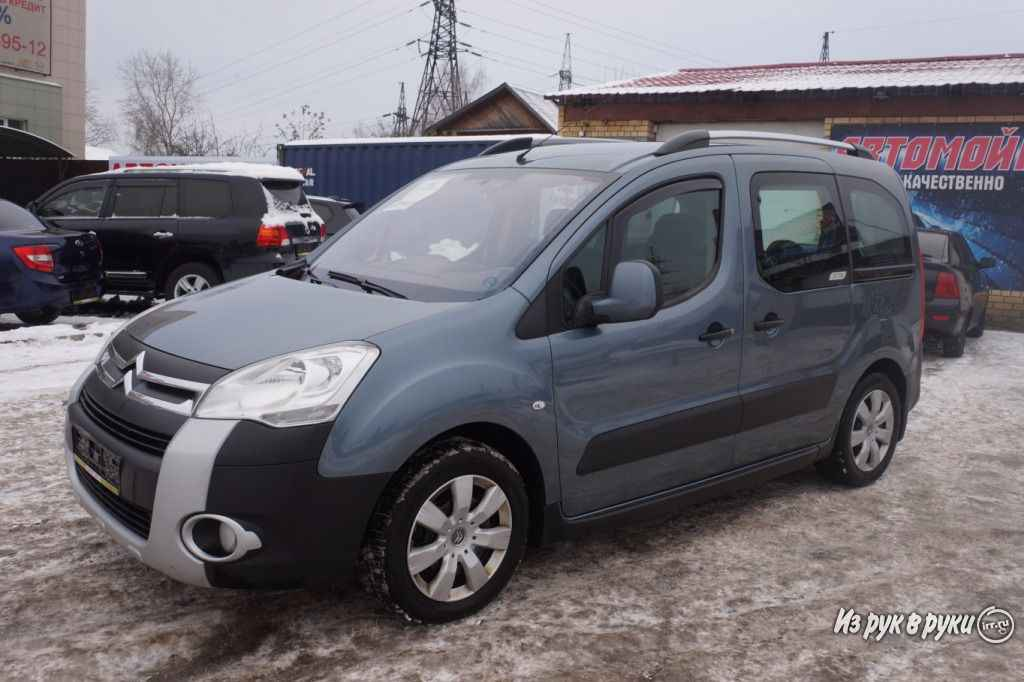 Citroen Berlingo, минивэн, 2012 г.в., пробег: 89000 км., механика, 1.598 л на Citroen Berlingo